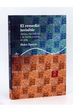 Cubierta de TRAYECTOS. EL REMEDIO INVISIBLE. ÁFRICA OCCIDENTE Y LA LUCHA CONTRA EL SIDA (Helen Epstein) Alba 2007