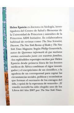 Muestra 1 de TRAYECTOS. EL REMEDIO INVISIBLE. ÁFRICA OCCIDENTE Y LA LUCHA CONTRA EL SIDA (Helen Epstein) Alba 2007