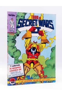 Cubierta de SECRET WARS II 36. THOR (Walter Simonson) Forum 1987