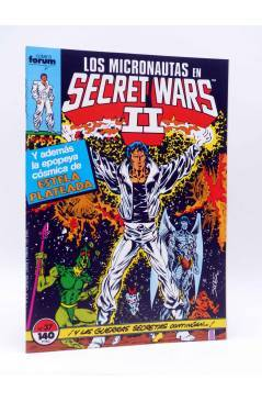 Cubierta de SECRET WARS II 37. LOS MICRONAUTAS (Peter B. Gillis / Kelley Jones) Forum 1987