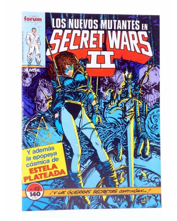 Cubierta de SECRET WARS II 42. LOS NUEVOS MUTANTES (Claremont / Sienkiewicz) Forum 1987