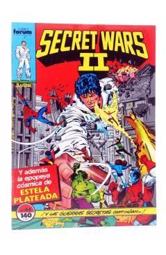 Cubierta de SECRET WARS II 44. LAS GUERRAS SECRETAS CONTINÚAN… (Jim Shooter / Al Migrom) Forum 1987