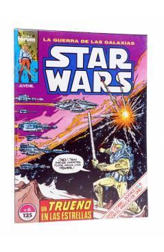 Cubierta de STAR WARS. LA GUERRA DE LAS GALAXIAS 6. TRUENO EN LAS ESTRELLAS (Goodwin / Infantino) Forum 1986