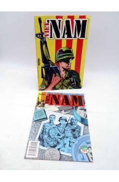 Contracubierta de VIET NAM VIETNAM LOTE NºS 1 16 a 30. DOS RETAPADOS (Murray / Vansant) Forum 1989