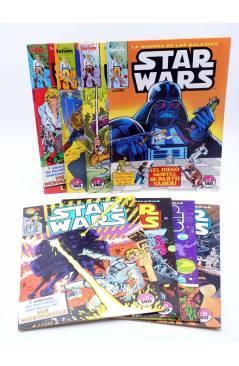 Cubierta de STAR WARS LOTE 2 7 A 12 15 Y 16. LOTE DE 8. Forum 1986