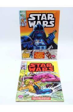 Contracubierta de STAR WARS LOTE 2 7 A 12 15 Y 16. LOTE DE 8. Forum 1986
