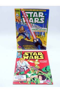 Muestra 1 de STAR WARS LOTE 2 7 A 12 15 Y 16. LOTE DE 8. Forum 1986