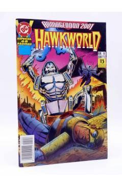Cubierta de ARMAGEDDON 2001 6. HAWKWORLD (Ostrander / Kwapisz) Zinco 1987