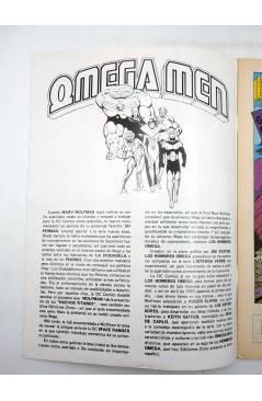 Muestra 4 de OMEGA MEN. LOTE Nºs 1 A 7 (Slifer / Giffen / Kirby) Zinco 1984. + NEW GODS