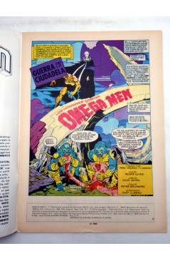 Muestra 5 de OMEGA MEN. LOTE Nºs 1 A 7 (Slifer / Giffen / Kirby) Zinco 1984. + NEW GODS