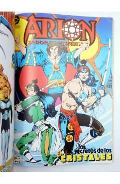 Muestra 3 de ARION SEÑOR DE LA ATLÁNTIDA. RETAPADO NºS 1 A 5 (Kupperberg / Duursema) Zinco 1985. + WARLORD