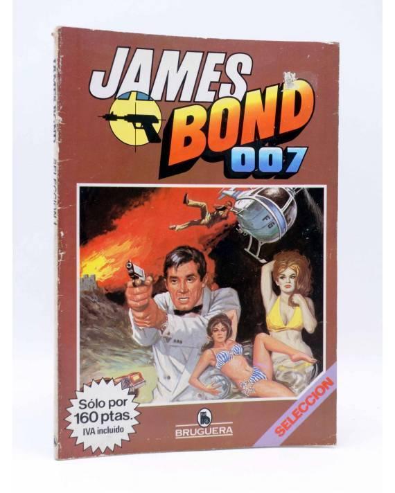 Cubierta de JAMES BOND AGENTE 007 SELECCIÓN 1. COMPLETA 3 NºS (Vvaa) Bruguera 1985. COMICS BRUGUERA