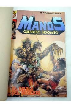 Cubierta de MANOS GUERRERO INDÓMITO SELECCIÓN 2. RETAPADO 13-18 (Correa) Bruguera 1984. COMICS BRUGUERA