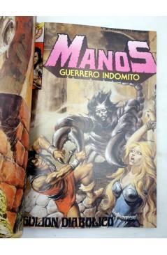 Muestra 1 de MANOS GUERRERO INDÓMITO SELECCIÓN 2. RETAPADO 13-18 (Correa) Bruguera 1984. COMICS BRUGUERA