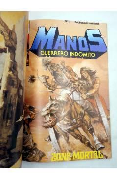 Muestra 3 de MANOS GUERRERO INDÓMITO SELECCIÓN 2. RETAPADO 13-18 (Correa) Bruguera 1984. COMICS BRUGUERA