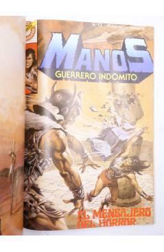 Muestra 4 de MANOS GUERRERO INDÓMITO SELECCIÓN 2. RETAPADO 13-18 (Correa) Bruguera 1984. COMICS BRUGUERA