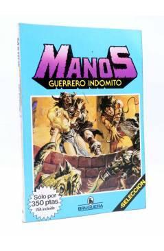 Muestra 5 de MANOS GUERRERO INDÓMITO SELECCIÓN 2. RETAPADO 13-18 (Correa) Bruguera 1984. COMICS BRUGUERA
