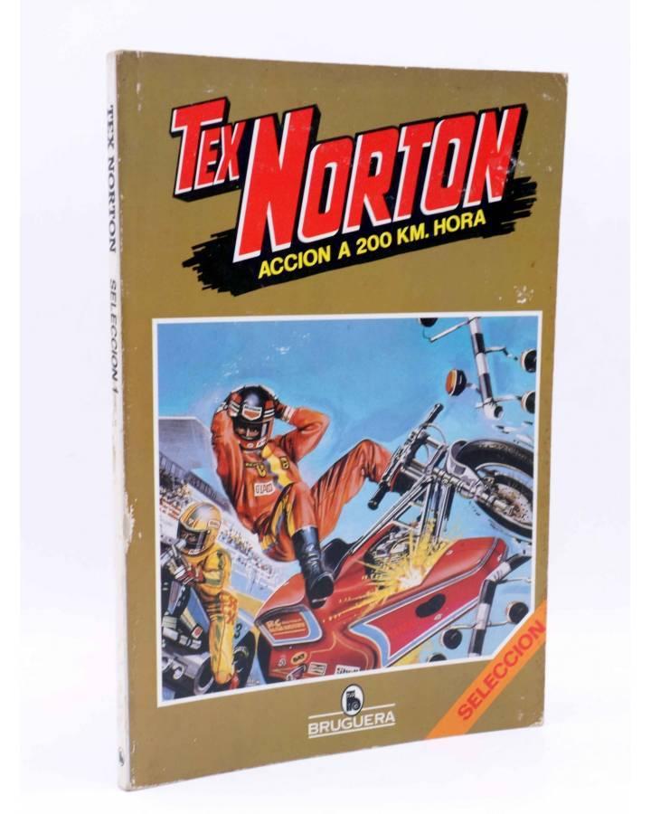 Cubierta de TEX NORTON SELECCIÓN 1. RETAPADO NºS 1 2 3 4 5 6 (Vvaa) Bruguera 1984. COMICS BRUGUERA