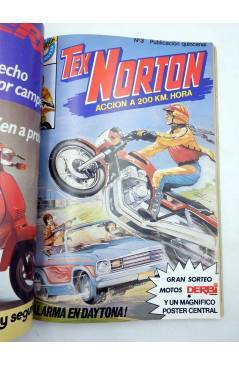 Muestra 3 de TEX NORTON SELECCIÓN 1. RETAPADO NºS 1 2 3 4 5 6 (Vvaa) Bruguera 1984. COMICS BRUGUERA