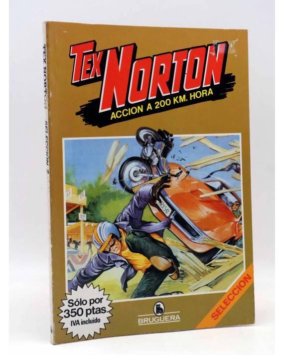 Cubierta de TEX NORTON SELECCIÓN 2. RETAPADO NºS 7 8 9 10 Y 11 (Vvaa) Bruguera 1985. COMICS BRUGUERA