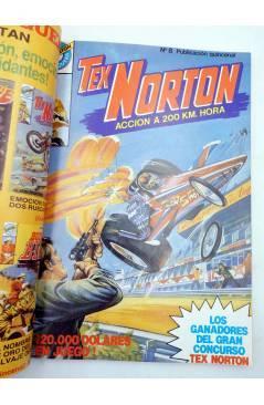 Muestra 2 de TEX NORTON SELECCIÓN 2. RETAPADO NºS 7 8 9 10 Y 11 (Vvaa) Bruguera 1985. COMICS BRUGUERA
