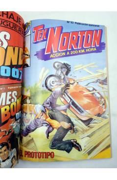 Muestra 4 de TEX NORTON SELECCIÓN 2. RETAPADO NºS 7 8 9 10 Y 11 (Vvaa) Bruguera 1985. COMICS BRUGUERA