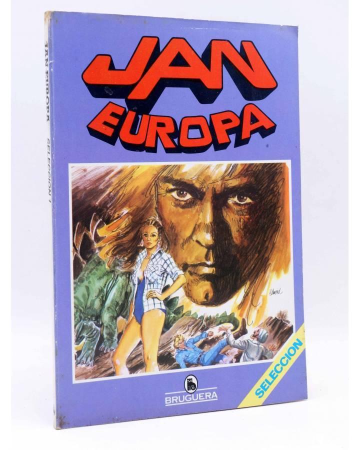 Cubierta de JAN EUROPA SELECCIÓN 1. RETAPADO NºS 1 2 3 4 5 (Edmond) Bruguera 1984. COMICS BRUGUERA