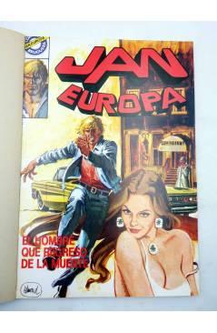 Muestra 1 de JAN EUROPA SELECCIÓN 1. RETAPADO NºS 1 2 3 4 5 (Edmond) Bruguera 1984. COMICS BRUGUERA