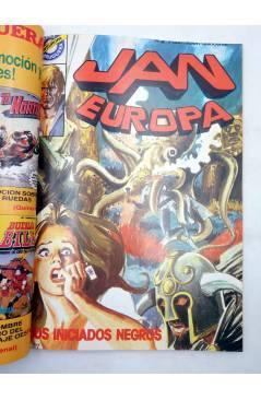 Muestra 2 de JAN EUROPA SELECCIÓN 1. RETAPADO NºS 1 2 3 4 5 (Edmond) Bruguera 1984. COMICS BRUGUERA