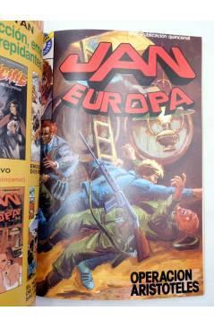 Muestra 4 de JAN EUROPA SELECCIÓN 1. RETAPADO NºS 1 2 3 4 5 (Edmond) Bruguera 1984. COMICS BRUGUERA