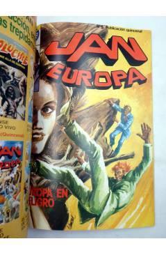 Muestra 5 de JAN EUROPA SELECCIÓN 1. RETAPADO NºS 1 2 3 4 5 (Edmond) Bruguera 1984. COMICS BRUGUERA