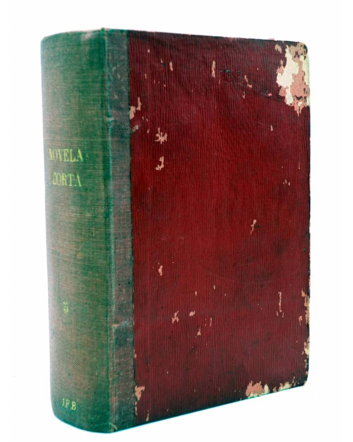 Cubierta de LA NOVELA CORTA 141 A 180. 40 nºs EN UN TOMO (Vvaa) La Novela Corta 1918