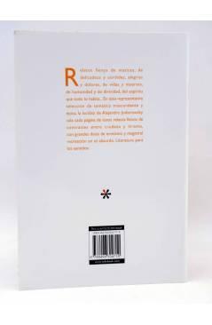 Contracubierta de MINI LETRAS. LÁGRIMAS DE ORO (Alejandro Jodorowsky) H. Kliczkowski 2005