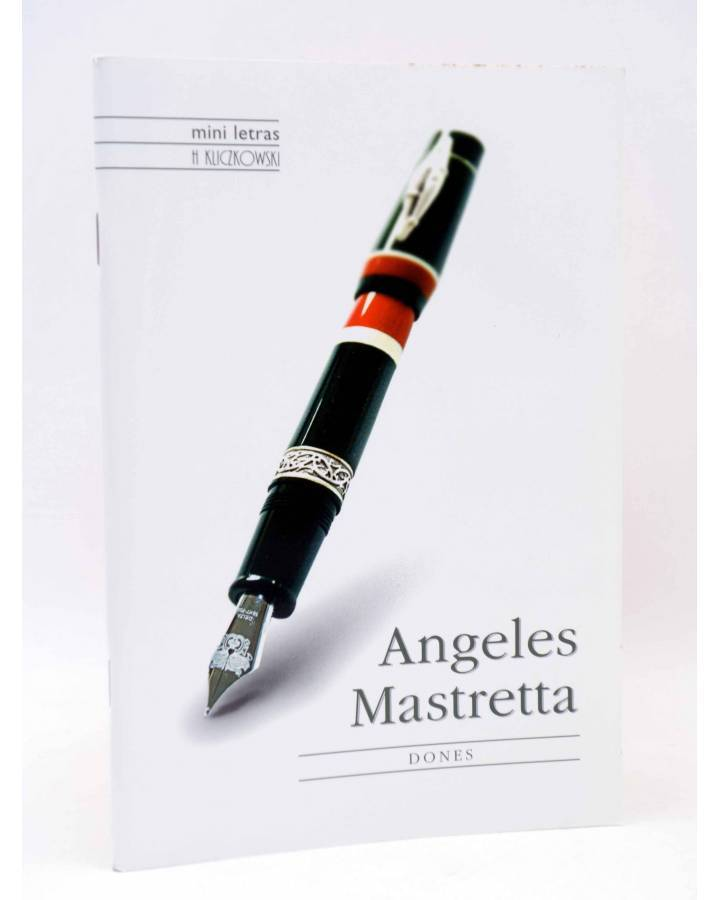 Cubierta de MINI LETRAS. DONES (Ángeles Mastretta) H. Kliczkowski 2005