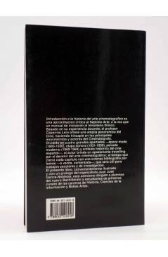 Contracubierta de LIBROS DE CINE. INTRODUCCIÓN A LA HISTORIA DEL ARTE CINEMATOGRÁFICO (José Mª Caparrós Lera) Rialp 1990