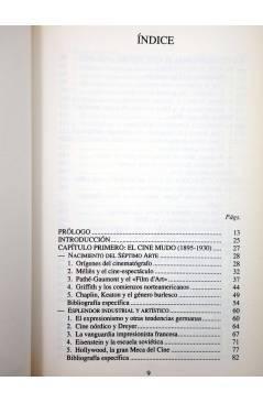 Muestra 4 de LIBROS DE CINE. INTRODUCCIÓN A LA HISTORIA DEL ARTE CINEMATOGRÁFICO (José Mª Caparrós Lera) Rialp 1990