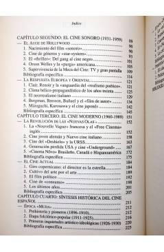 Muestra 5 de LIBROS DE CINE. INTRODUCCIÓN A LA HISTORIA DEL ARTE CINEMATOGRÁFICO (José Mª Caparrós Lera) Rialp 1990