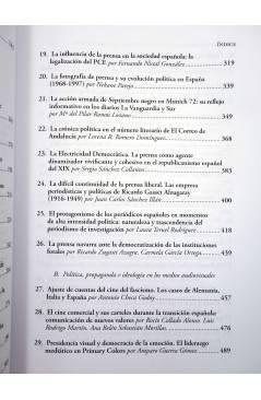 Muestra 3 de POLÍTICA Y COMUNICACIÓN EN LA HISTORIA CONTEMPORÁNEA (Bordería Ortiz / Martínez Gallego / Rius Sanchís) Fra