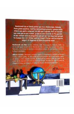 Contracubierta de EL SOMNI DE REMBRANDT (Alberto Urcaray) Brosquil 2008
