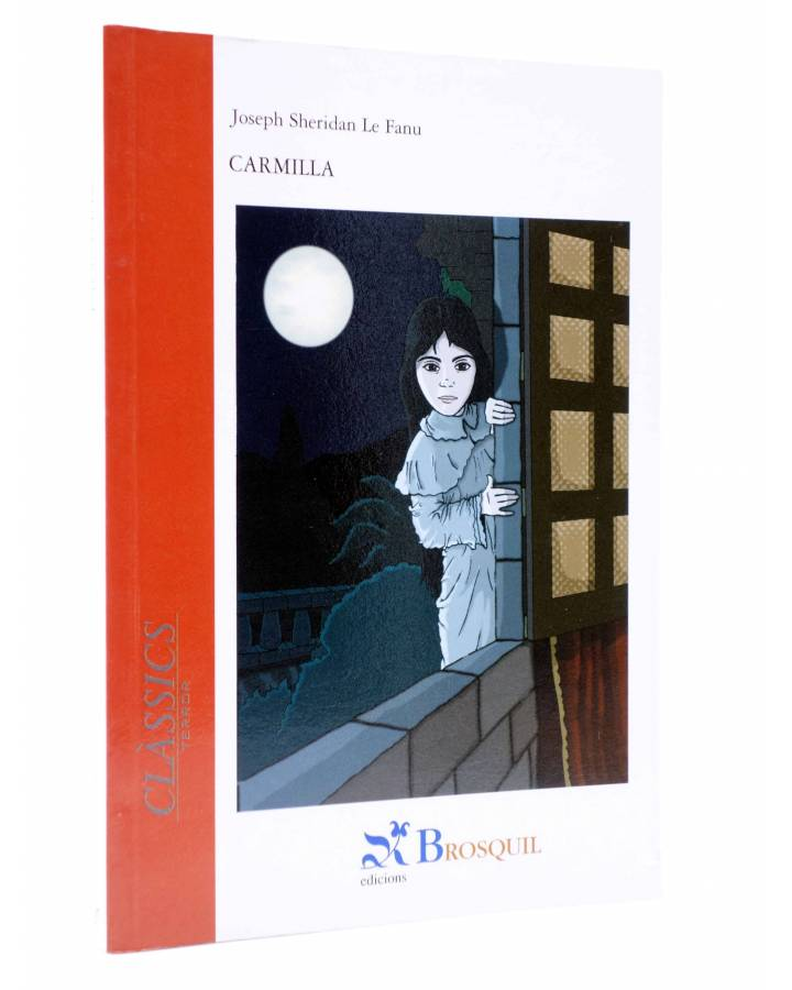 Cubierta de CLÀSSICS TERROR 2. CARMILLA (Joseph Sheridan Le Fanu) Brosquil 2003