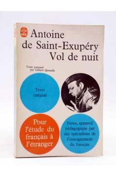 Cubierta de LE LIVRE DE POCHE. VOL DE NUIT (Antoie De Saint Exupéry) Gallimard Circa 1931