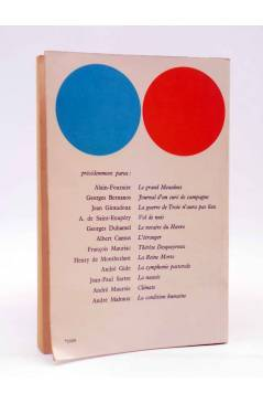 Contracubierta de LE LIVRE DE POCHE. VOL DE NUIT (Antoie De Saint Exupéry) Gallimard Circa 1931