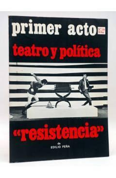 Cubierta de PRIMER ACTO. REVISTA DE TEATRO 176. TEATRO Y POLÍTICA (Vvaa) Primer Acto 1975