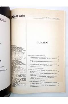 Muestra 1 de PRIMER ACTO. REVISTA DE TEATRO 192. MARGALLO SASTRE DARIO FO… (Vvaa) Primer Acto 1982