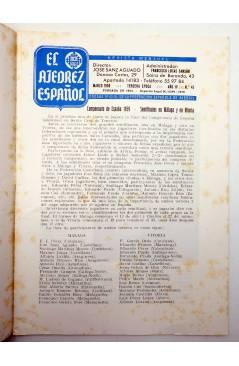 Muestra 2 de REVISTA EL AJEDREZ ESPAÑOL 43. MARZO 1959 (Vvaa) FEDA 1959