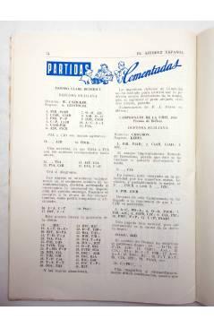 Muestra 4 de REVISTA EL AJEDREZ ESPAÑOL 43. MARZO 1959 (Vvaa) FEDA 1959