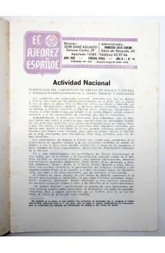 Muestra 2 de REVISTA EL AJEDREZ ESPAÑOL 44. ABRIL 1959 (Vvaa) FEDA 1959