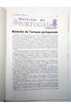 Muestra 4 de REVISTA EL AJEDREZ ESPAÑOL 44. ABRIL 1959 (Vvaa) FEDA 1959