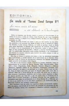 Muestra 2 de REVISTA EL AJEDREZ ESPAÑOL 63 / 8 - 1961. AGOSTO. AJEDREZ EN VERANO (Vvaa) FEDA 1961