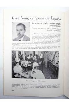 Muestra 2 de REVISTA EL AJEDREZ ESPAÑOL 77 / 10 - 1962. OCTUBRE. XV OLIMPIADA EN VARNA (Vvaa) FEDA 1962